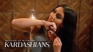 Kim Kardashian Cuts Off Hair for Healing | KUWTK | E!