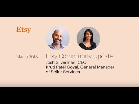 Q4 Community Video from Josh Silverman, CEO, and Kruti Patel Goyal, GM of Seller Services