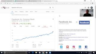 If you don't have any Facebook stock you may want to consider getting it