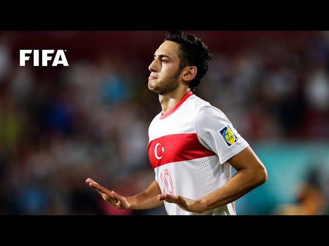 Hakan Calhanoglu goal vs Australia | FIFA U-20 World Cup