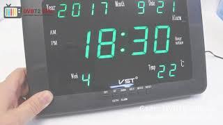 VST-802W - обзор электронных часов