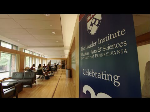 Inside the Lauder MA/MBA and MA/JD Joint Degree Programs