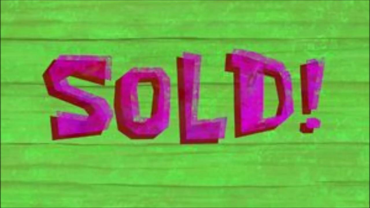 Spongebob Squarepants Sold Music Only Youtube