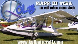 Kolb Mark III Extra, Full Lotus Amphibious Mono Float