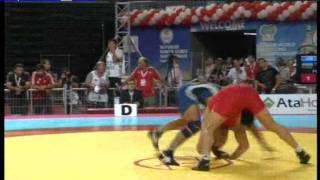 66kg - Andriy Stadnik (UKR) vs Sushil Kumar (IND) 2011 world championship