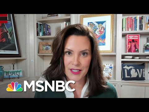 Gov. Whitmer: When Trump Focuses On Me, The 'Violent Rhetoric' Increases | All In | MSNBC