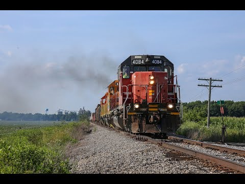 Ex-CP Rail SD40-2 on the IORY LNL