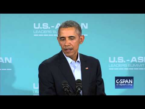 "President Obama: ""I continue to believe Mr. Trump will not be President..."" (C-SPAN)"