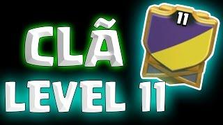 PRIMEIRO CLÃ DO MUNDO LEVEL 11 - Clash of Clans (CURIOSIDADE)