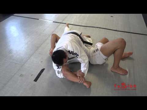Kimura lock/Gyaku ude-garami/Double Wrist Lock into judo throw (Soto Makikomi (外巻込) into submission
