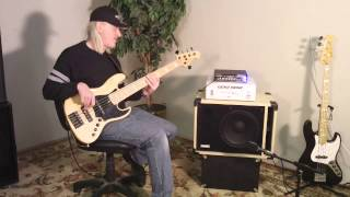Avatar SB112 Bass Guitar Speaker Cabinet Demo Eminence Delta 12 LF