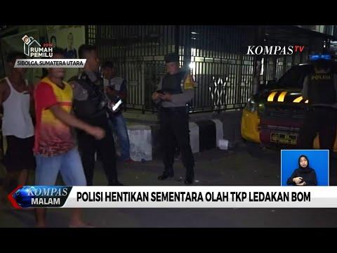 Polisi Hentikan Sementara Olah TKP Ledakan Bom di Sibolga