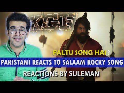 Pakistani Reacts To Salaam Rocky Bhai Song | KGF | YASH | SRINIDHI