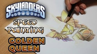 Skylanders Speed Painting: Golden Queen