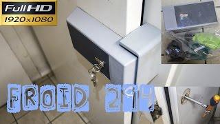 Froid294-Le remplacement d\'une poignée de chambre froide cassée ...