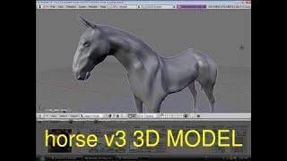 3D Model of horse v3 Review