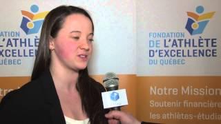 Entrevue Geneviève Peel - Boursière Cogeco Diffusion 2014