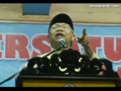 Anwar Sokong Israel !