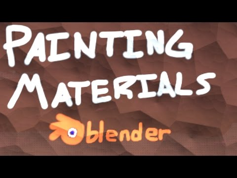 How to Paint Materials in Blender