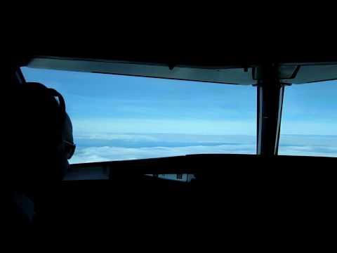 Germanwings Airbus A319-100 Cockpit Video CGN-LIS-CGN Part 2/10