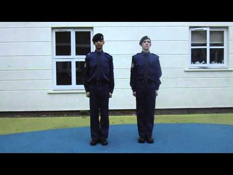 Police Cadets Drill
