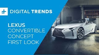 Lexus LC Convertible Concept - First Look at Detroit Auto Show 2019