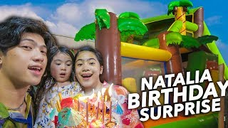 SURPRISED NATALIA ON HER BIRTHDAY!! | Ranz and Niana