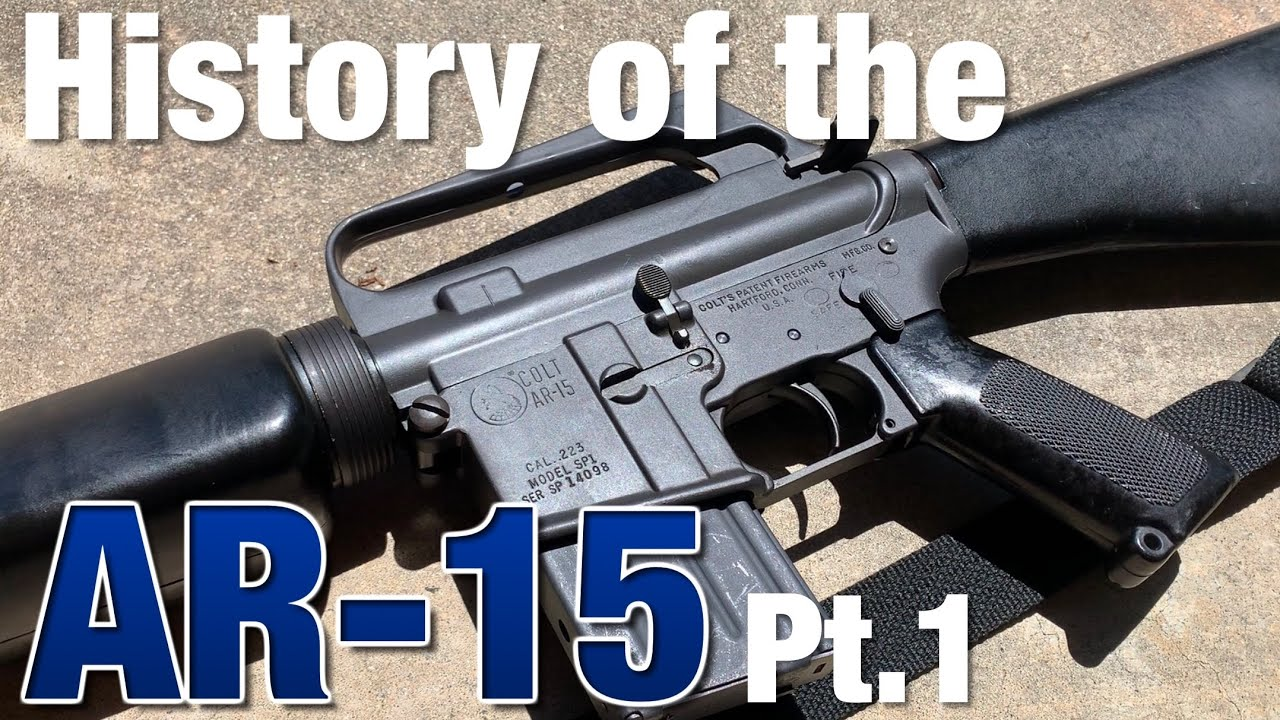 History of the AR-15 - the Armalite years (Pt  1)