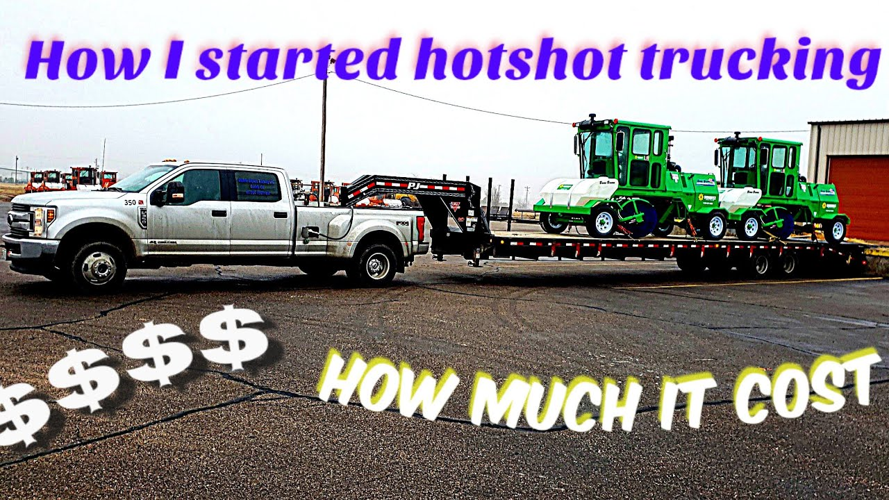 How I Started Hotshot And Start Up Cost