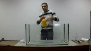 как самому сделать аквариум на 200 литров
