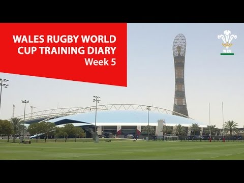WEEK 5: Wales Rugby World Cup Training Diary | WRU TV