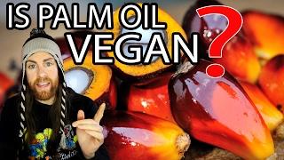 PALM OIL is it VEGAN?