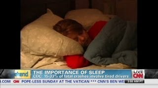CNN Weekend Shows - Sleep deprivation increases health risks thumbnail