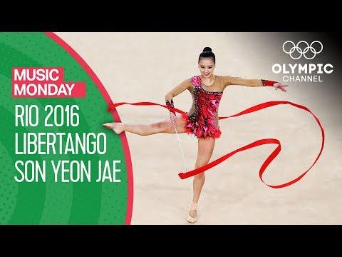 "Son Yeon Jae's ""Libertango"" In Rio 2016 | Rhythmic Gymnastics | Music Monday"