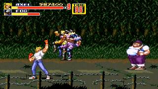 Streets of Rage 2 - Highscore Run - Axel - Hardest - User video