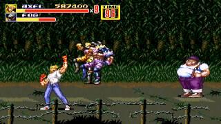 Streets of Rage 2 - Streets of Rage 2 (Sega Genesis) - Highscore Run - Axel - Hardest - User video