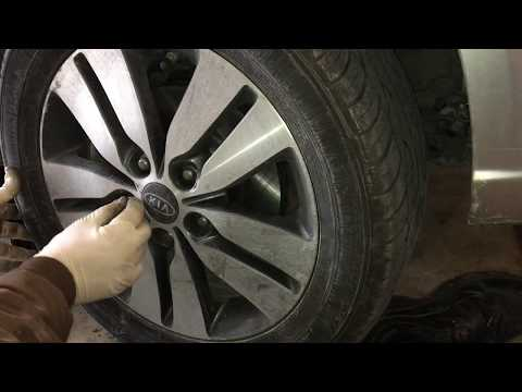 How to- Install Front Brake Pads and Rotor on 2013 Kia Forte