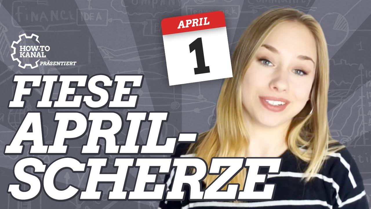 1. April Streiche