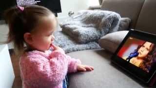 Amira Willighagen - One of Amira's Youngest Fans - 26 December 2013