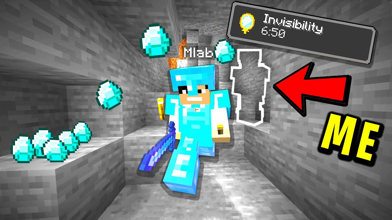 Download Trolling my new minecraft friend with invisibility