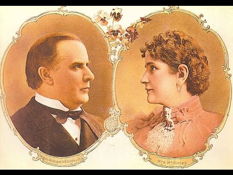 William McKinley 25th President-the man who loved his wife