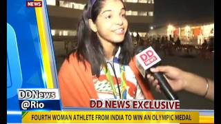 DD News speaks with Bronze medalist Sakshi Malik