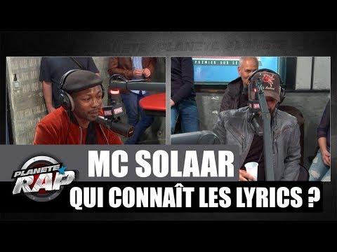 Mc Solaar - Qui connaît les lyrics ? avec Bambi Cruz #PlanèteRap