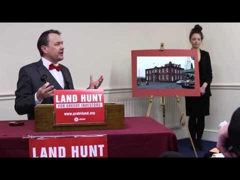 Land Hunt for greedy investors