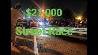 1503 SUPRA vs 714 GTR 21000 Street Race