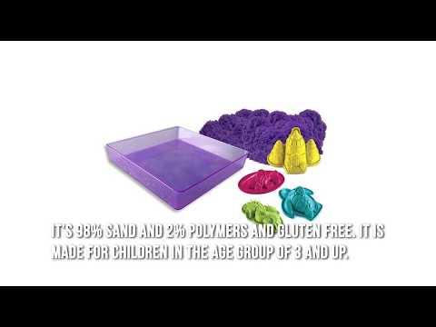 Kinetic Sand Folding Sandbox Review - Top Christmas Toys 2017