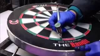 The Bandit Dartboard Production - By Puma Darts