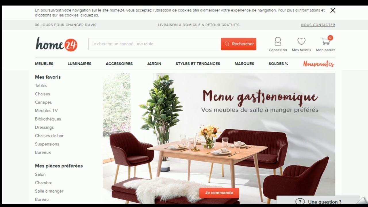 Avis Sur Le Site Home24 promo vérifié en vidéo home24 code nkx8o0pznw