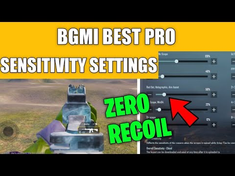 Download BEST SENSITIVITY SETTING AND FULL GUIDE + 0 RECOIN IN BGMI