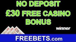 How To Claim A No Deposit £30 Free Casino Bonus With Winner Club Casino